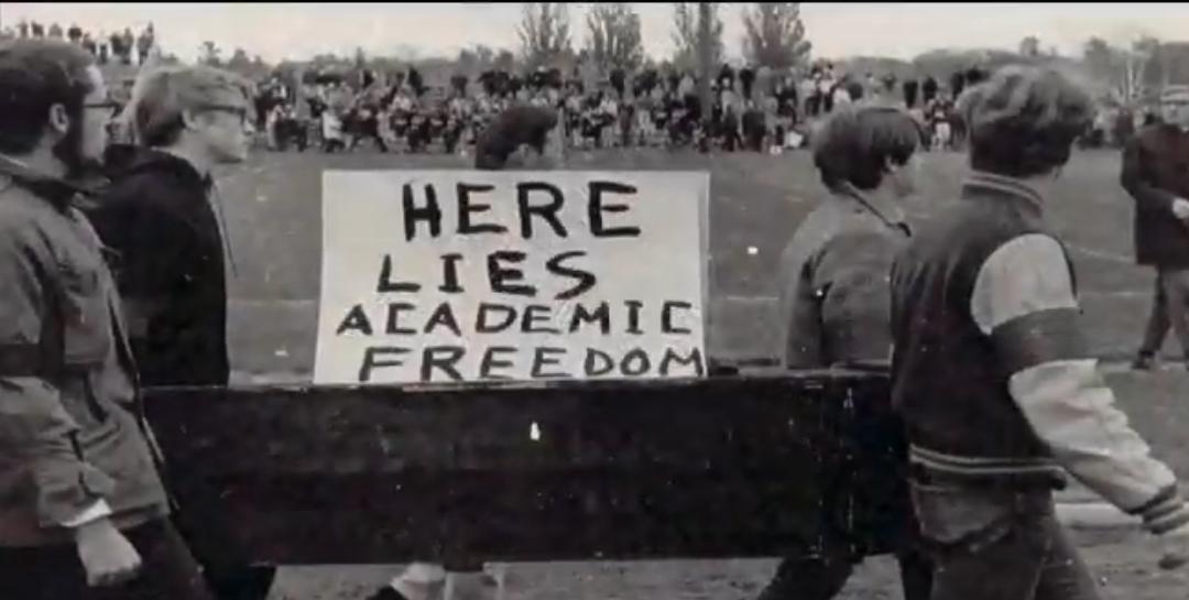 เสรีภาพทางวิชาการไม่ได้หล่นมาจากบนฟ้า แต่มาจากการเปล่งเสียงของพวกเรา